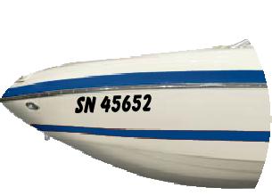 lettre immatriculation bateau KIT LETTRES AUTOCOLLANTES IMMATRICULATION BATEAU DE MOINS DE 7 METRES lettre immatriculation bateau